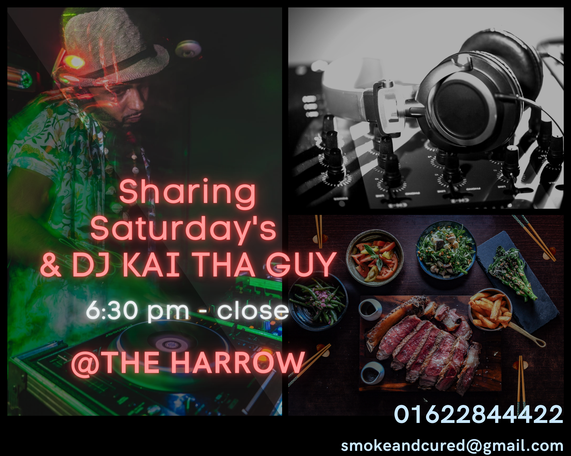 DJ Kai Tha Guy - Sharing Saturdays at The Harrow